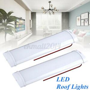 2x 12V LED Interior Light Roof Ceiling Light For Van RV Camper Trailer