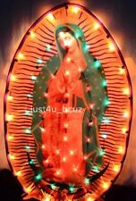 Light-Up Our Lady Of Guadalupe LED Virgin Mary Flashing Virgen Maria Catholic