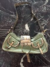 Damenhandtasche Betty Barcley, Western-Look used, Trageschlaufe Schlangenoptik