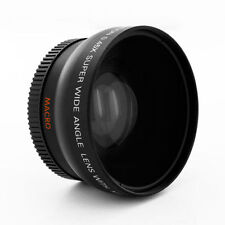 Wide Angle Lens + Macro for Canon Eos Digital Rebel T6 T5 i sl1 XTi w/50MM 35MM