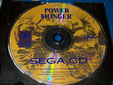 PowerMonger (Sega CD, 1994) Disc Only