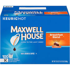 Maxwell House Breakfast Blend K-Cup Coffee Pods (100 ct.)