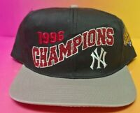 NEW Vintage New York Yankees 1996 Champions Team Drew Pearson Hat Cap Snapback