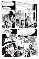 DRACULA HORS DU TOMBEAU  PLANCHE DE MONTAGE ORIGINALE AREDIT PAGE 14