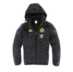 Adidas Herren Jacke Steppjacke Gr.XS Chelsea London Primaloft Training 109616