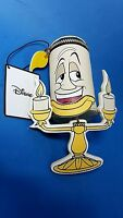 Lumiere the Candle Stick Zip Childrens Purse 3D Disney Beauty and the Beast