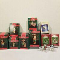 Lot of Hallmark Keepsake Ornaments Miniature Mixed Christmas Tree Washington