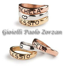 Anelli personalizzabili Ink Basic 3 anelli in argento 925 % Ref. An Tris nome
