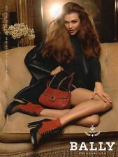 Publicité Advertising 2011  BALLY sac à main collection mode chaussure