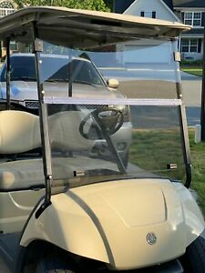 For Yamaha G29 / Drive Tinted Fold Down Bolt-Style Golf Cart Windshield US STOCK