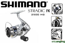 Shimano Stradic 2500 FK HG Reel, Front Drag, Fixed Spool, Spinning, Match/Feeder