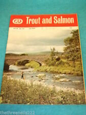 July Trout and Salmon Fishing Sports Magazines