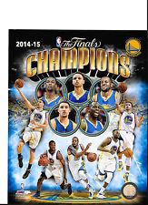 "Set of 2 2014-2015 Golden State Warriors Champions  8"" x 10"" Photos"
