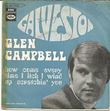 GLEN CAMPBELL Galveston FRENCH SINGLE CAPITOL