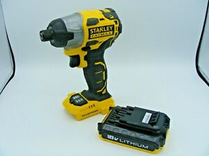 STANLEY FATMAX FMC647 Brushless 18V Li-ion Impact Drill With 2.0Ah Battery *New*