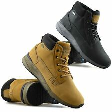 Mens Hi Tec X-Hail Leather Waterproof Walking Hiking Work Ankle Boots Shoes Size