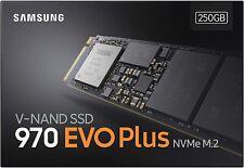 Samsung MZ-V7S250BW 970 EVO Plus 250 GB NVMe M.2 Interne SSD Schwarz