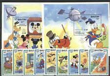 Walt Disney, Raumfahrt, Space - Bhutan - ** MNH 1984