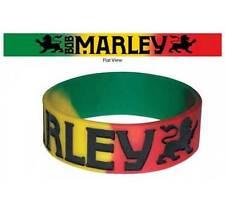 Zion Rootswear Bob Marley Lion Rasta Reggae Rap Rubber Wristband Bracelet BM6165