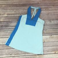 Womens lululemon Open Soul Tank Beach Blanket Blue Aquamarine 4 Top Athleisure