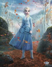 IDINA MENZEL DISNEY FROZEN 2 SIGNED 11X14 PHOTO ELSA AUTOGRAPH BECKETT COA B