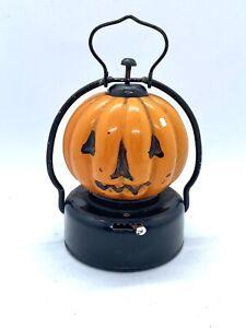vintage 60's light up pumpkin halloween