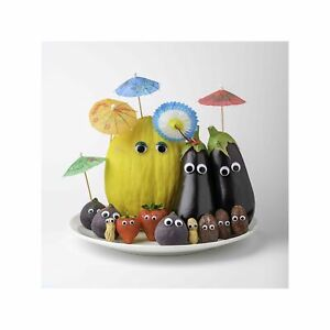 Fruit and Vegetables on Holiday Art Wall Decor Print 2 60x60cm