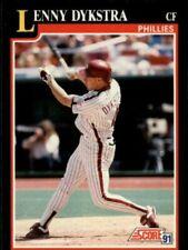 1991 Score Baseball Cards 250-497 +Rookies (A6419) - You Pick - 10+ FREE SHIP