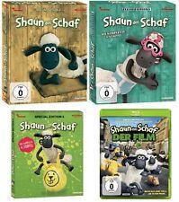 5 Blu-rays * SHAUN DAS SCHAF - STAFFEL 2 + 3 + 4 + KINOFILM IM SET # NEU OVP $/