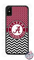 Alabama Crimson Tide Football Phone Case Cover For iPhone Samsung LG Google