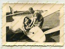 Foto, Jugend, Ausbildung mit Segelflugzeug in der Reichsegelflugschule, f 20698