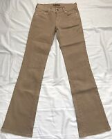 Arden B Boot Cut Jean Pants Size 1 Camel New