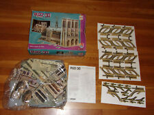 1995 Puzz 3D Notre Dame Cathedral 952 pc Pre-owned Complete in Box Excellent
