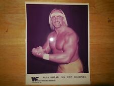 1 wwf hulk hogan 8x10 promo photo