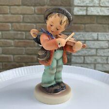 """Goebel Hummel. W Germany Porcelain Figurine """"Little Fiddler"""" 4. Tmk5"""
