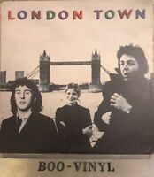 Wings - London Town + Poster - PAS 10012 - Vinyl LP Vg+ Con