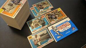 Tom Brady 2003 Topps All American FOIL PARRALEL Football Starter Set 62/150 Lot