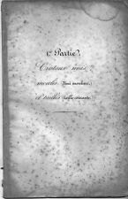 Baccarat et St Louis - Catalogue des cristalleries 1840 en PDF