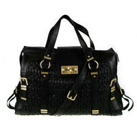 Fiorelli Virginia Black Quilted Large Laptop Cross Body Bag
