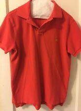 Polo Ralph Lauren Red / Orange Shirt Men's Medium