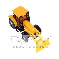 Excavadora Bulldozer Articulada Naranja Pala Vehículo Campo Colección j237