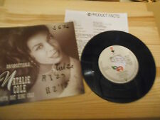 "7"" POP Natalie Cole-Unforgettable/Cottage for sale Elektra presskit bagno COND"