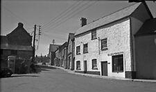 B/W Negative Bampton Devon Electricity Shop 1949 +INC © DB983