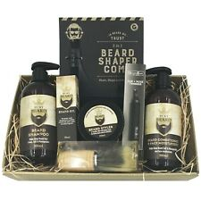 Mens By My Beard Christmas Gift Hamper Boys Birthday Fathers Grooming Gift Set
