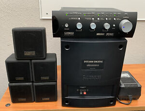 Creative Cambridge SoundWorks DTT3500 5.1 Surround Sound System - Complete
