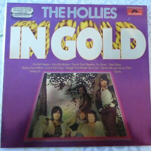 THE HOLLIES LP IN GOLD 1978 GERMANY VG++/VG++