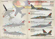 Print Scale 1/72 Dassault/Dornier Alpha Jet Partie 2 # 72183