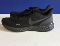Nike Mens Revolution 5 BQ3204-001 Athletic Black Anthracite Running Shoes Sz 8.5