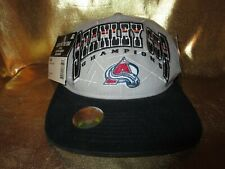 Colorado Avalanche Avs 1996 NHL Stanley Cup Finals Champs Locker Room Hat NEW