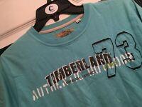 Timberland Boys blue T Shirt Age 12
